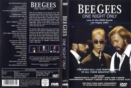BEE GEES ONE NIGHT ONLY - FRONT
