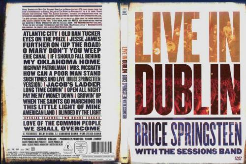 Bruce Springsteen-Live In Dublin-2007 - FRONT