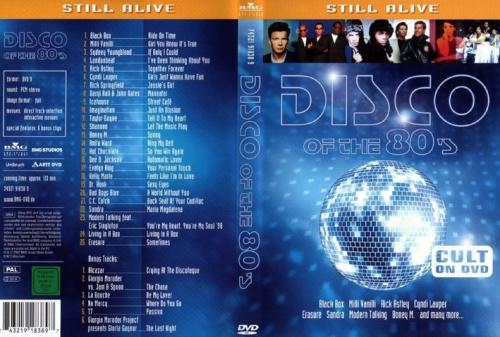 Disco of the 80s - FRONT