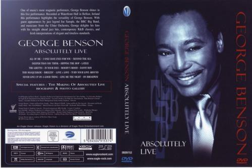 George Benson Absolutely Live FRONT