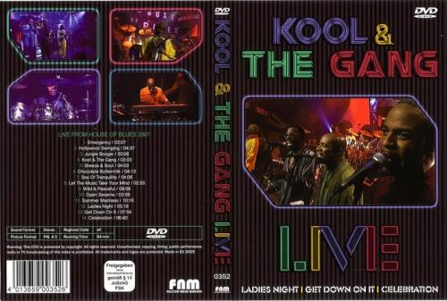 KOOL AND THE GANG - FRONT