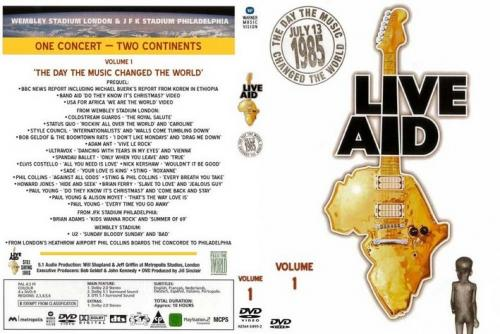 Live Aid 1 - Day That Music Changed The World (1985)