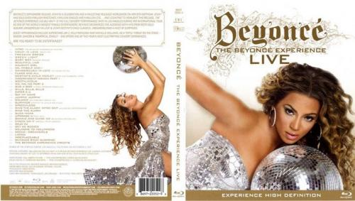 beyonce live - front