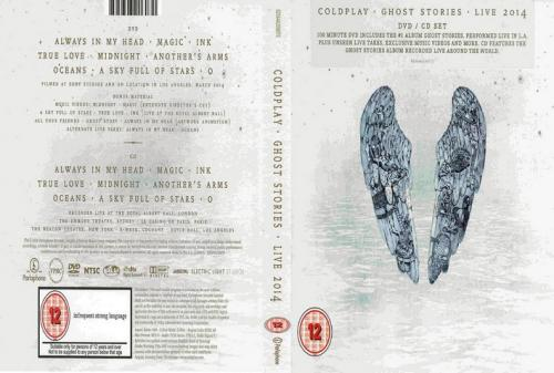 coldplay gost stories dvd