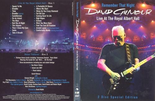 david gilmour - remember that night - live at the royal albert hall (eng)